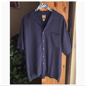 Tommy Bahama 100% Silk Button Down, Size Large